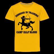 Kids' Shirts ~ Kids' Premium T-Shirt ~ DEMIGOD IN TRAINING Centaur Kid's T-Shirt - Half-Blood T-Shirt