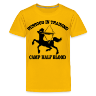 Kids' Shirts ~ Kids' Premium T-Shirt ~ DEMIGOD IN TRAINING Centaur Kid's T-Shirt - Half-Blood T-Shirt