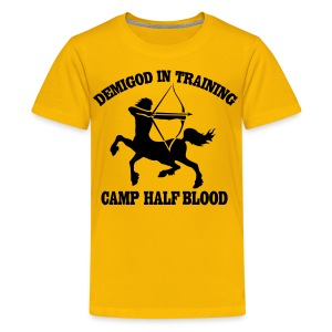 DEMIGOD IN TRAINING Centaur Kid's T-Shirt - Half-Blood T-Shirt - Kids' Premium T-Shirt