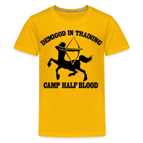 DEMIGOD IN TRAINING Centaur Kid's T-Shirt - Half-Blood T-Shirt - Kids' Premium T-Shirt