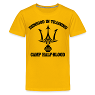 Kids' Shirts ~ Kids' Premium T-Shirt ~ DEMIGOD T-Shirt - Poseidon's Trident