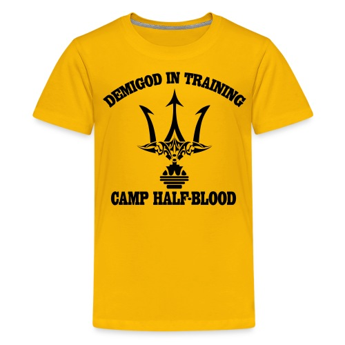 DEMIGOD T-Shirt - Poseidon's Trident - Kids' Premium T-Shirt