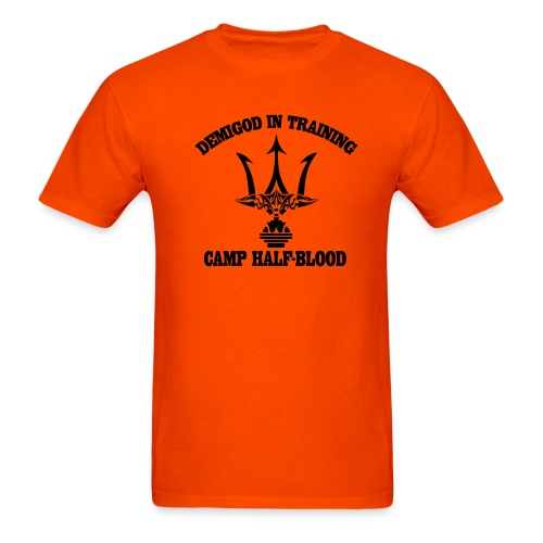 POSEIDON DEMIGOD T-Shirt - Adult Size - Men's T-Shirt