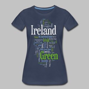 Ireland Words - Women's Premium T-Shirt