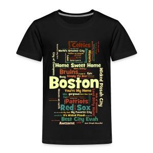 Three Words - Toddler Premium T-Shirt