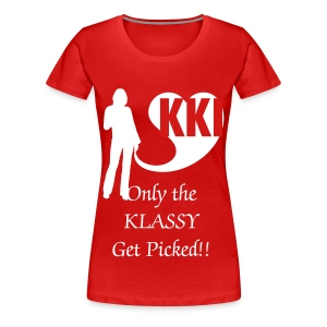 Plus Size KKI: Prettiest Picked - Women's Premium T-Shirt