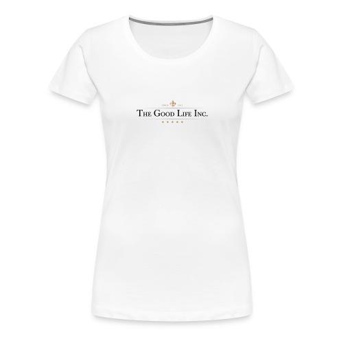 The Good Life Inc. Women's V-Neck T-Shirt - Women's Premium T-Shirt