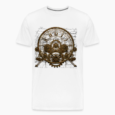 Steampunk Time Machine #1A T-shirt