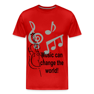 Music can change the world - Men's Premium T-Shirt