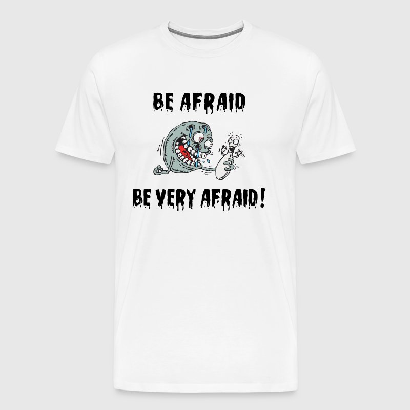 Be Very Afraid: Funny Bowling Be Afraid Be Very Afraid T-Shirt