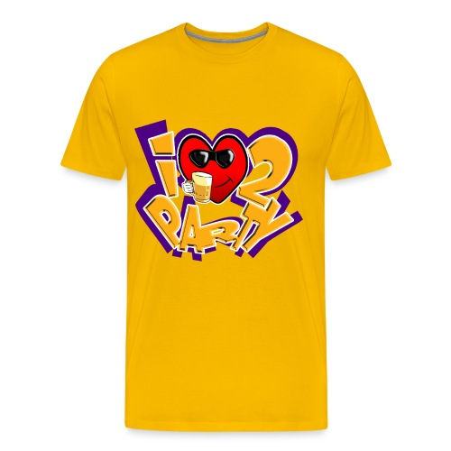 I love to Party - Men's Premium T-Shirt