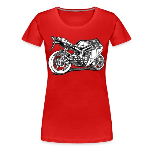 Motorcycle Plus - Women's Premium T-Shirt