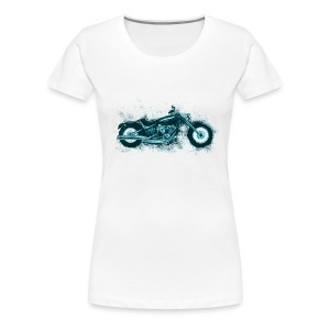 Harley Sketch Plus - Women's Premium T-Shirt