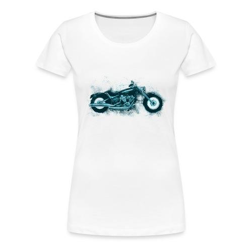 Harley Sketch Plus - Women's Premium T-Shirt