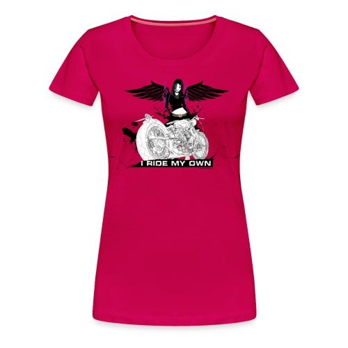 I Ride My Own Plus - Women's Premium T-Shirt