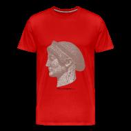 T-Shirts ~ Men's Premium T-Shirt ~ Spartan women head