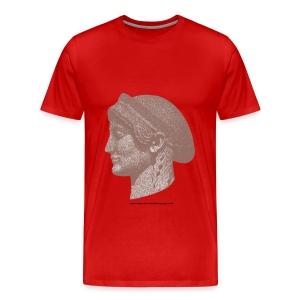 Spartan women head - Men's Premium T-Shirt