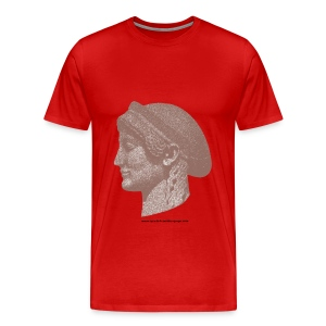 Spartan women head - Men's Premium T-Shirt
