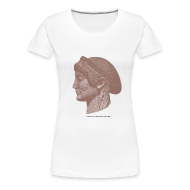 Women's T-Shirts ~ Women's Premium T-Shirt ~ Spartan women head shirt