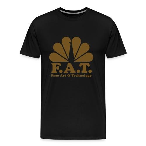 Fat Gold - Men's T-Shirt - Men's Premium T-Shirt
