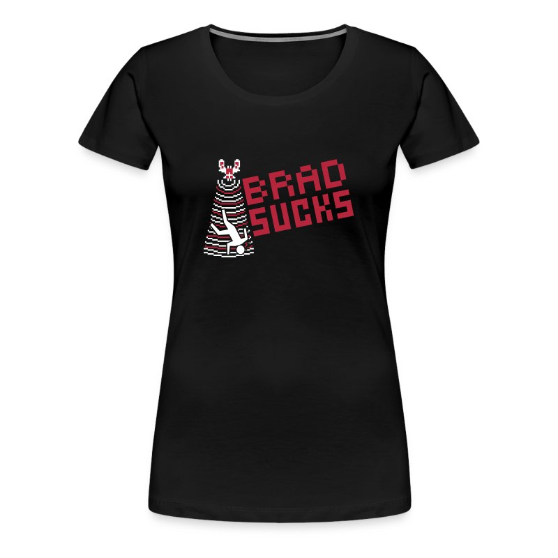 bradsucksarcadeart - Women's Premium T-Shirt