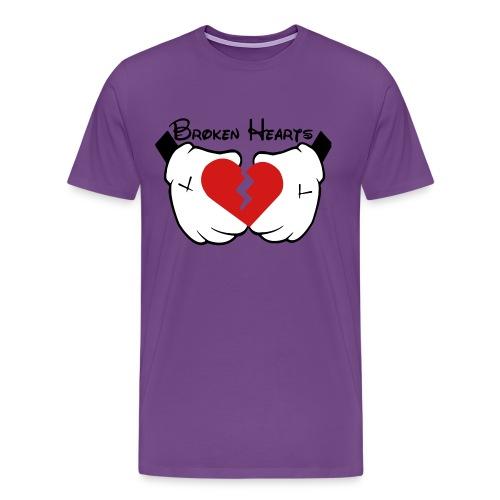 Broken Hearts and Dreams Shirt - Men's Premium T-Shirt
