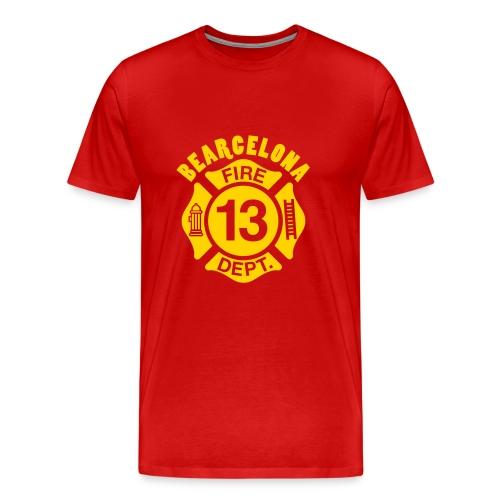 BEARcelona FIRE DEPT. - Men's Premium T-Shirt