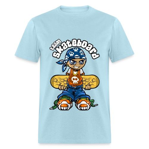 Team Skateboard - Men's T-Shirt