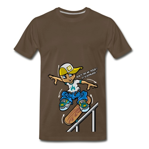 Dont Try my Trick - Men's Premium T-Shirt