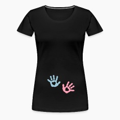 baby - hands - heart Women's T-Shirts