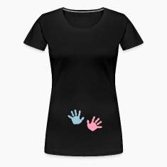 baby - hands  Women's T-Shirts