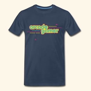 arcade gamer (free shirtcolor selection) - Men's Premium T-Shirt