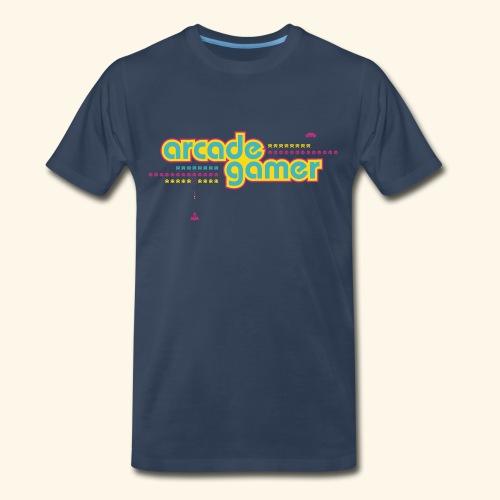 arcade gamer (free shirtcolor selection) - Men's Premium T-Shirt
