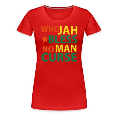 Jah Bless - Women's Premium T-Shirt