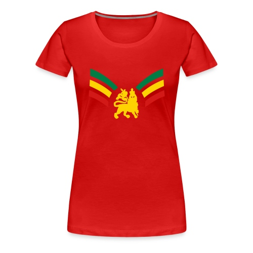 Lioness on the Rise - Women's Premium T-Shirt