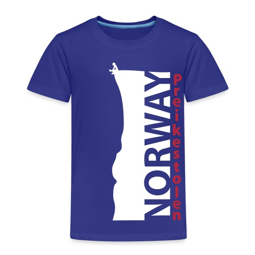 Preikestolen NORWAY HQ. Cliff Ed. SERIES - Toddler Premium T-Shirt