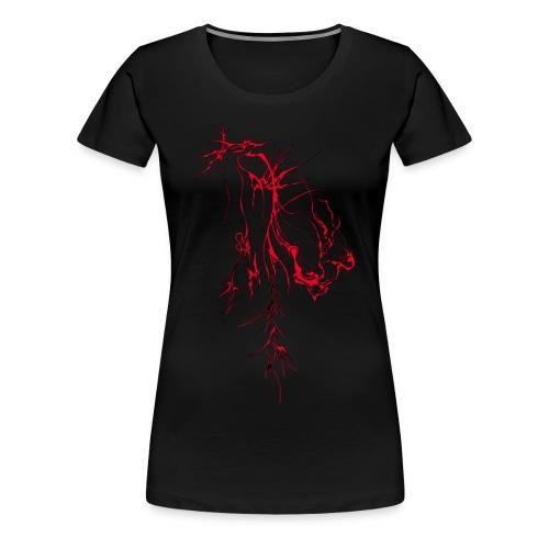 Liqid Ink Red- Womens T - Women's Premium T-Shirt