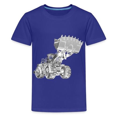 Old Mining Wheel Loader - Kids' Premium T-Shirt