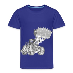 Old Mining Wheel Loader - Toddler Premium T-Shirt