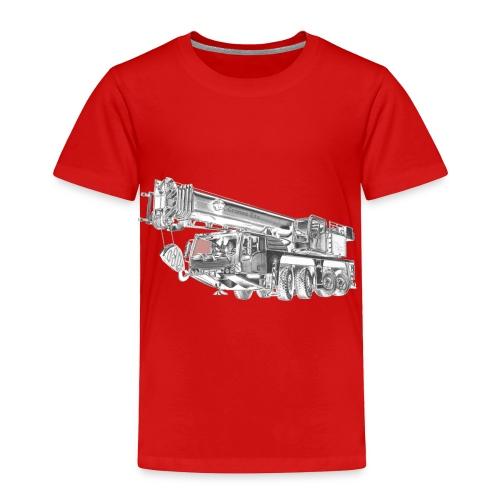 Mobile Crane 4-axle - Toddler Premium T-Shirt