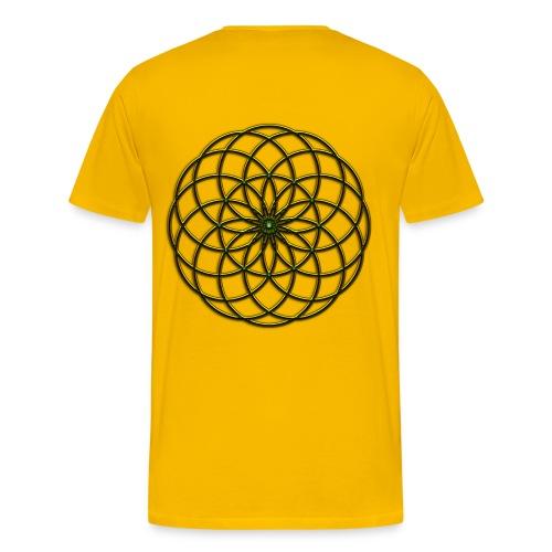 Spirograph Design Tee Shirt - Men's Premium T-Shirt