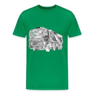 Dump Truck 8x4 - Men's Premium T-Shirt