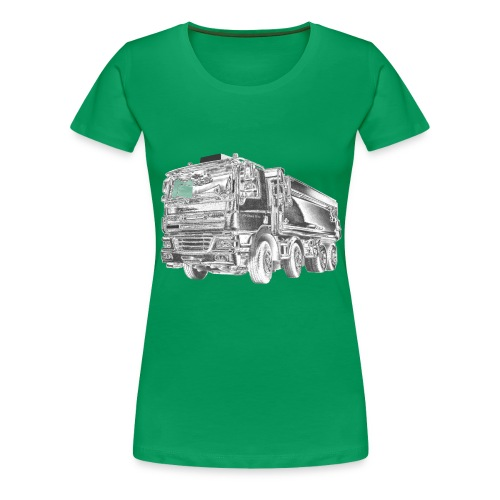 Dump Truck 8x4 - Women's Premium T-Shirt