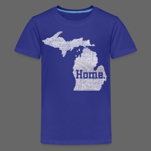 Michigan Home - Kids' Premium T-Shirt