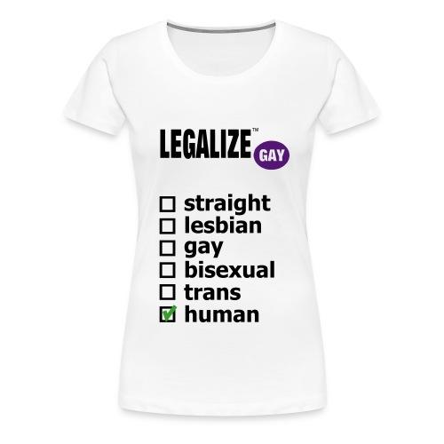 LGBTQ Pride shirt | Women's Tee  - Women's Premium T-Shirt