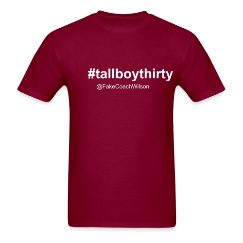 #tallboythirty - Men's T-Shirt