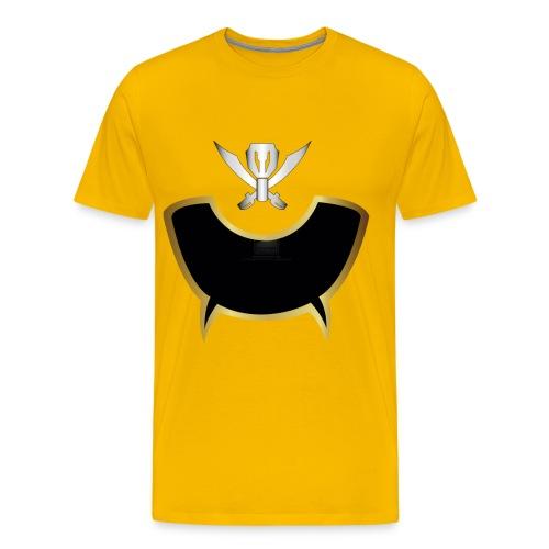 Gokai yellow T-Shirt - Men's Premium T-Shirt