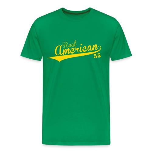 Real American Power Shirt - Men's Premium T-Shirt