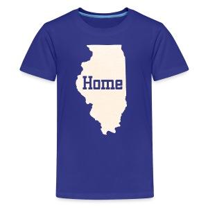 Illinois Home - Kids' Premium T-Shirt