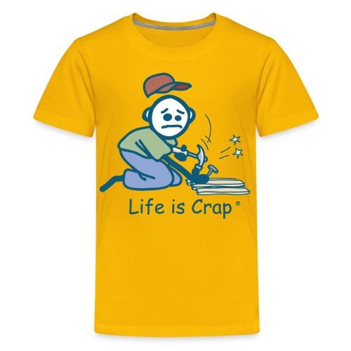 Handyman Kneeling - Kids Tee - Kids' Premium T-Shirt